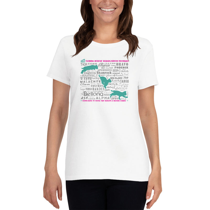 Shirt - Bobcats of the Rehab Program Women's Scoop