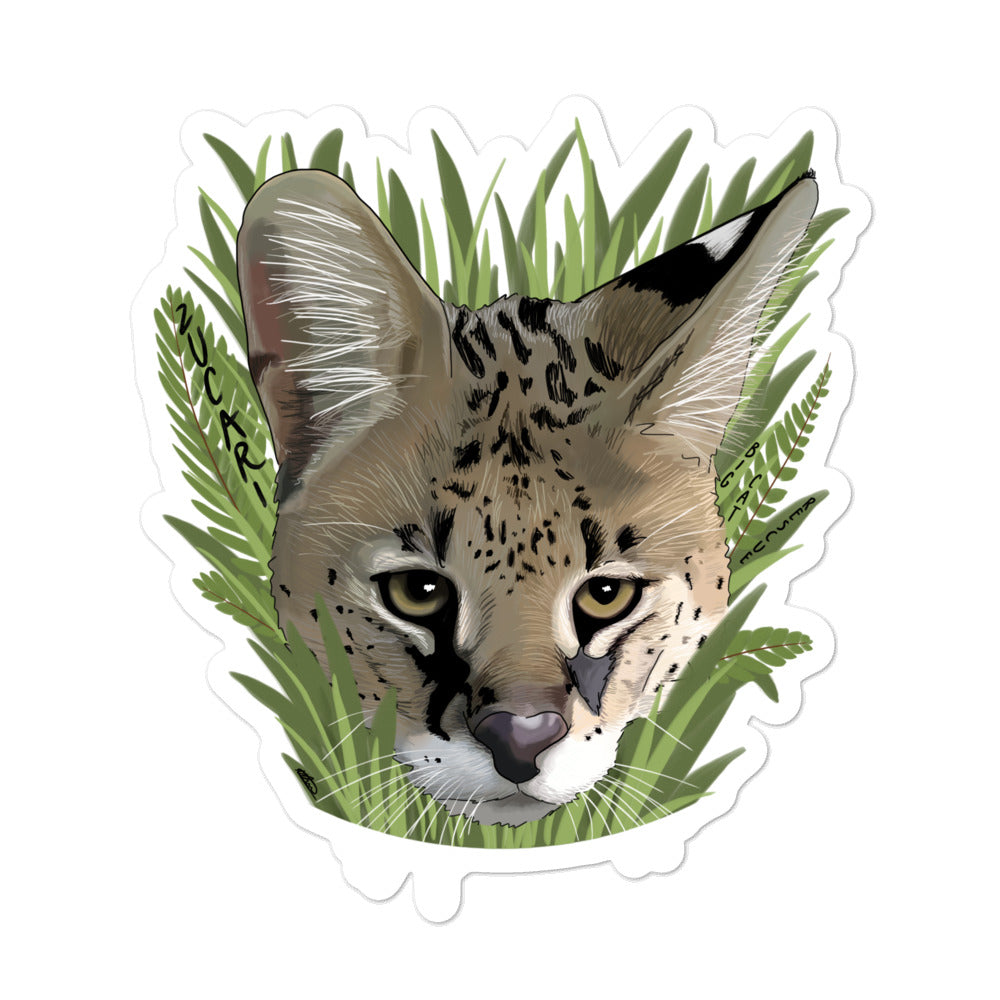 Sticker - Zucari Serval
