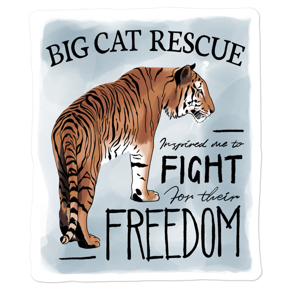 Sticker - Fight for Freedom