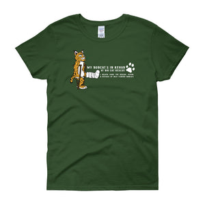 Shirt - My Bobcat's In Rehab at BCR Women's Scoop