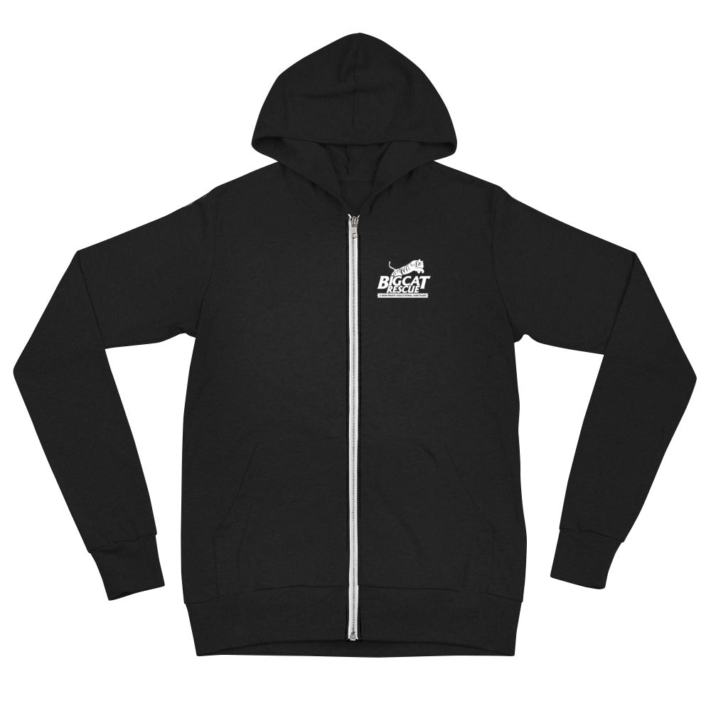 Sweatshirt - BCR Logo Zip Up Hoodie Lightweight