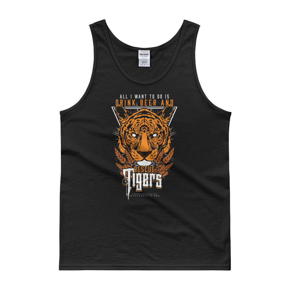 Tank - Drink Beer & Rescue Tigers