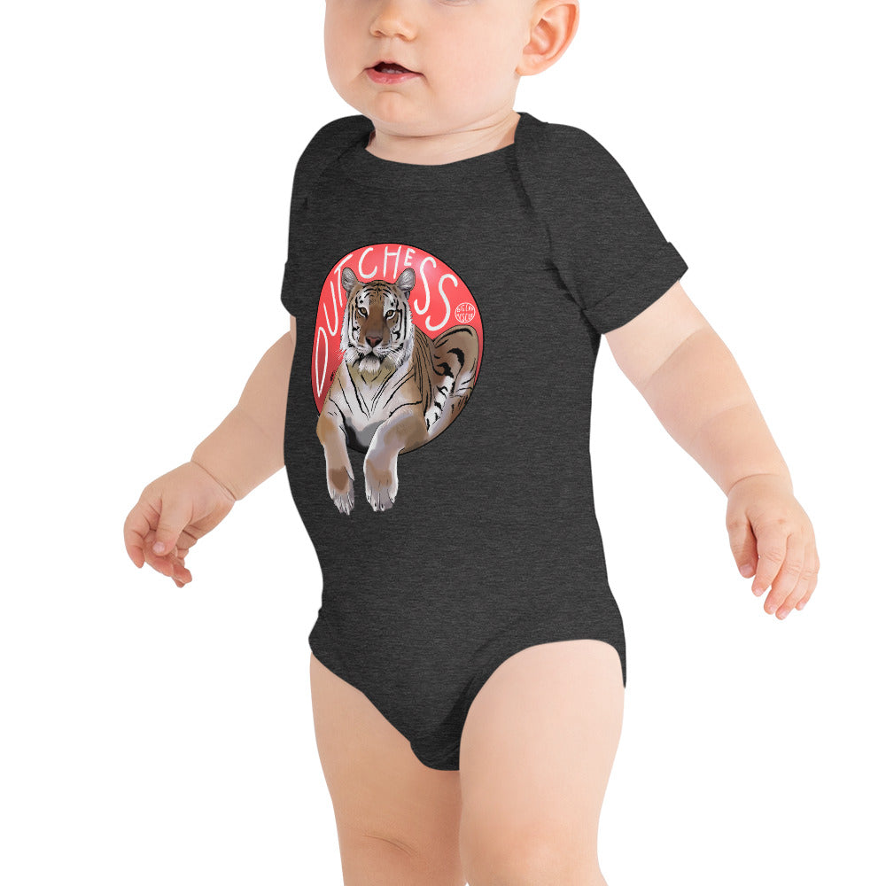 Baby - Dutchess Tiger Vs. Red Ball Onesie