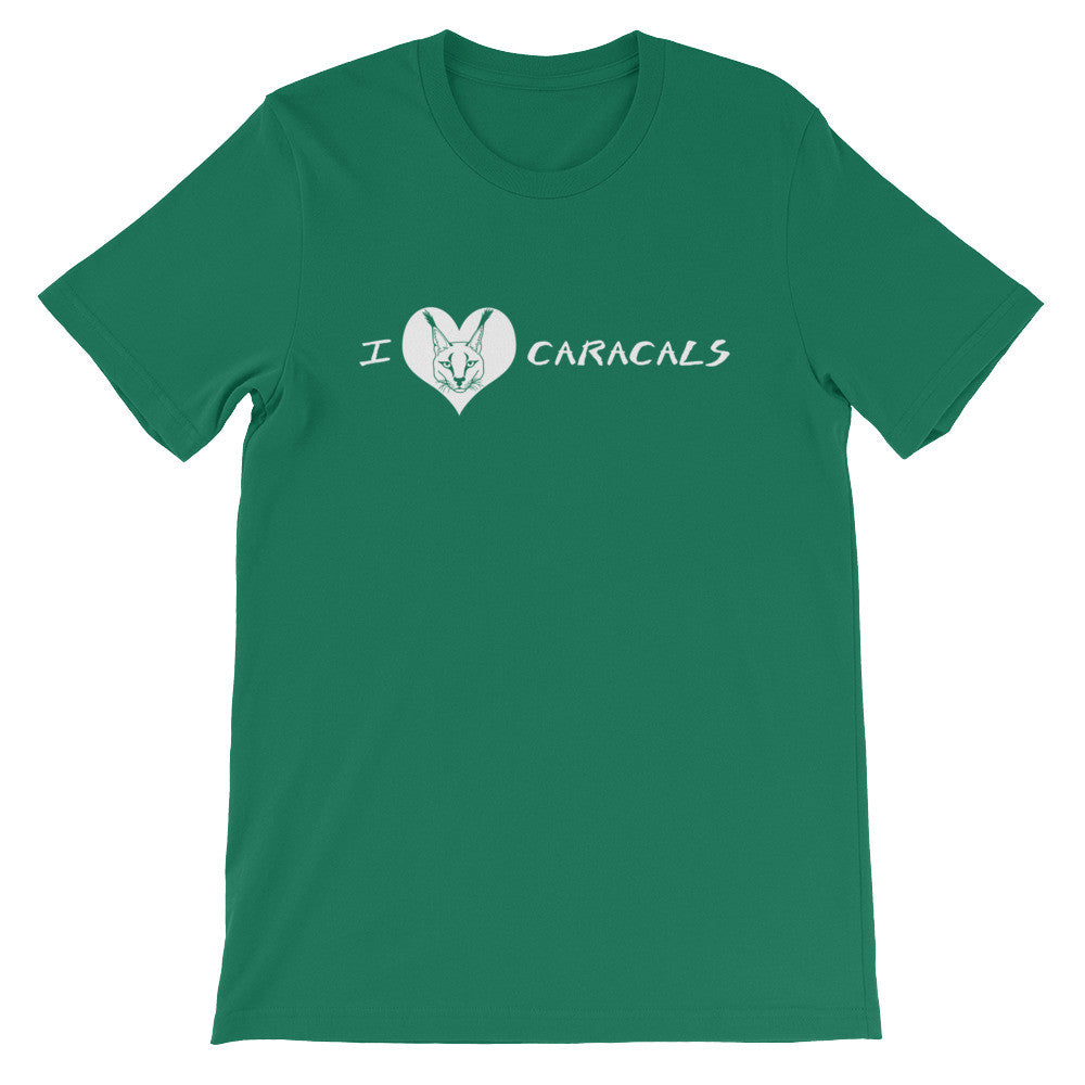 Shirt - I Heart Caracals