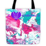 Bag - Rusty & Sassy Caracal Paw Painting Tote