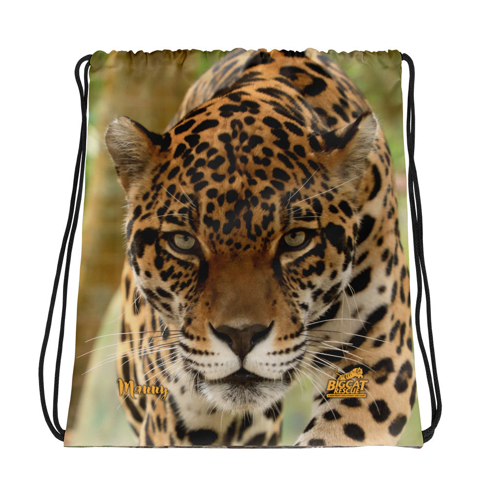 Bag - Manny Jaguar Reversible Drawstring