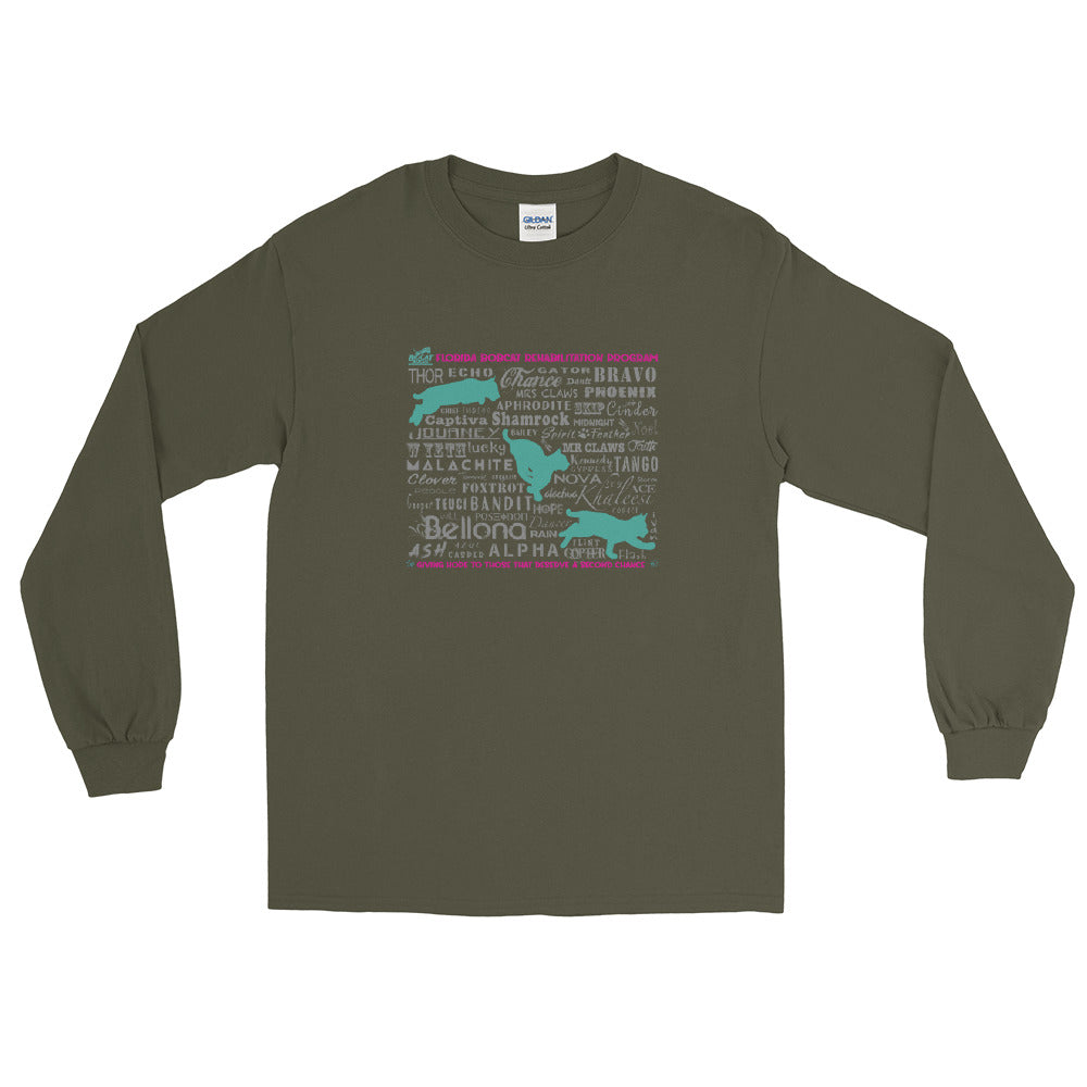 Shirt - Bobcats of the Rehab Program Longsleeved (up to 5x)
