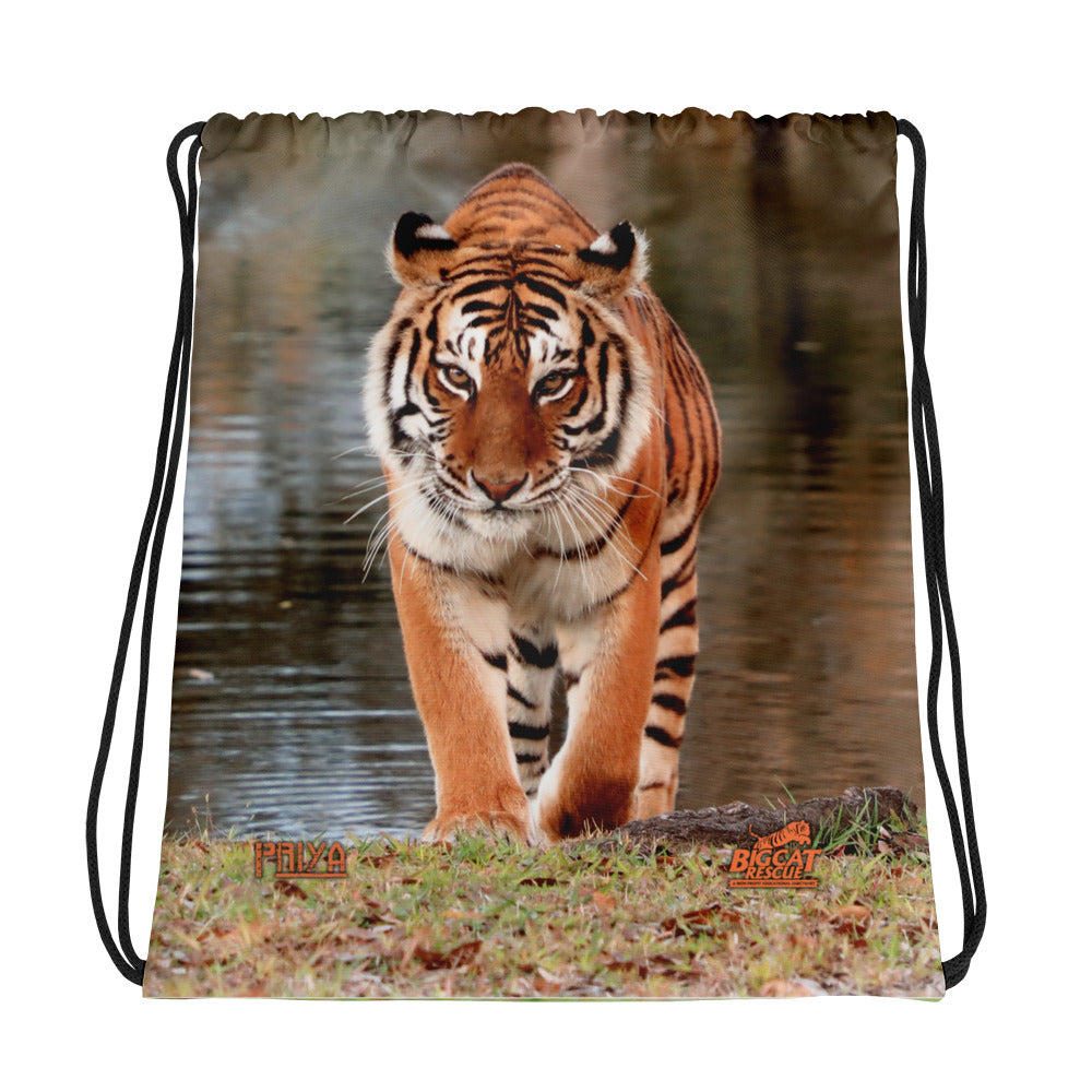 Bag - Priya Tigress Reversible Drawstring