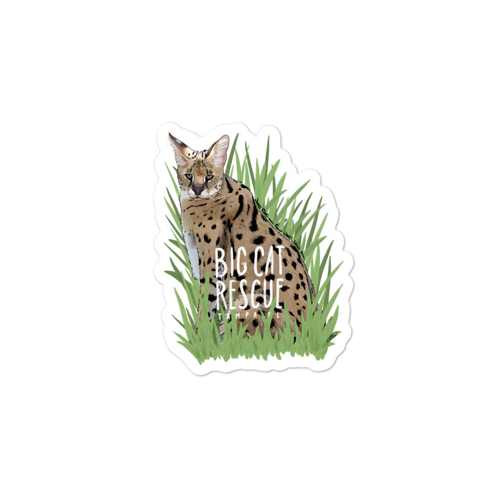 Sticker - Kricket Serval