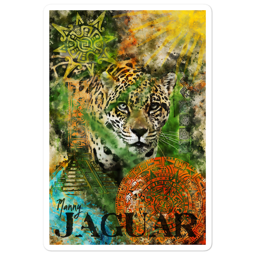 Sticker - Jaguar Ancient Ruins