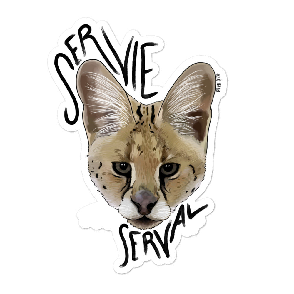 Sticker - Servie the Serval