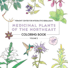 Medicinal Plants of the Northeast Coloring Books (Vol. 2)
