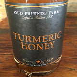 Organic Turmeric Honey - Classic or Elderberry - 17oz