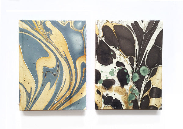 Marbleized Paper Journals