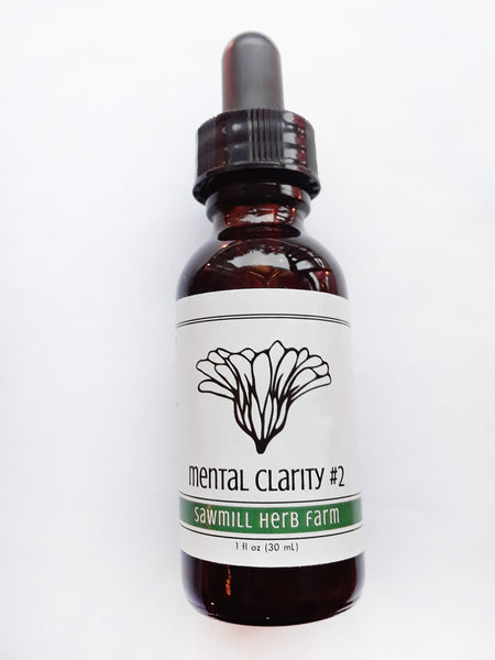 Mental Clarity Tincture - 1oz