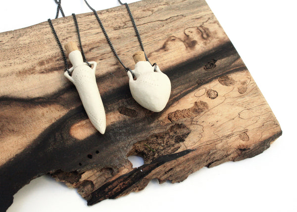 Porcelain Vessel Necklaces