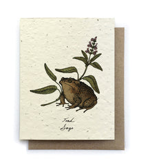 Witch's Herbs Greeting Cards - Plantable Seed Paper - 4 Designs to Choose From!