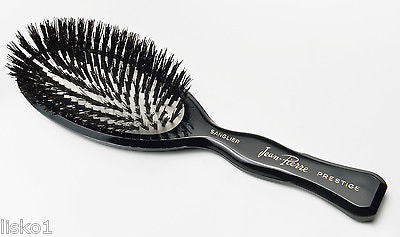 PHILLIPS Jean Pierre Prestige Boar Bristle large oval white cushion hair brush