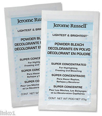 JEROME RUSSELL Lightest & Brightest Hair Powder Frost & Bleach 2-pk.  25g