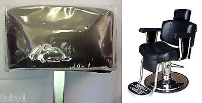 Head Rest Cover fits COLLINS *9010*  Barber Chair, clear plastic
