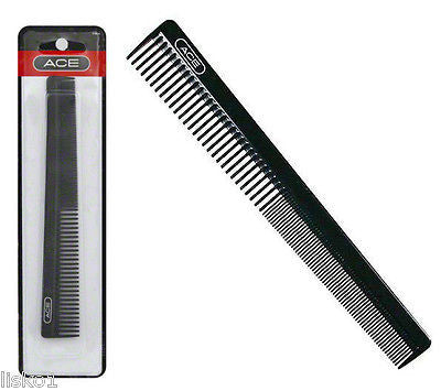"POCKET COMBS Ace #61886 Barbers 7"" Pocket hair comb, Hard Plastic,  1- comb"