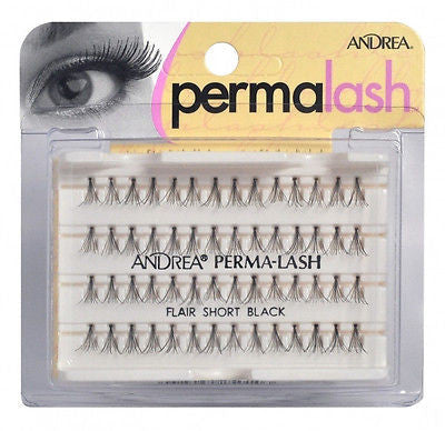 EYELASH ADHESIVE ANDREA PERMA-LASH INDIVIDUAL (FLAIR SHORT  BLACK ) EYELASHES