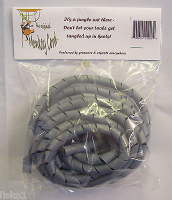 Original Monkey Cord Detangler, 10 feet long, Plastic, Beauty-Barber   GREY