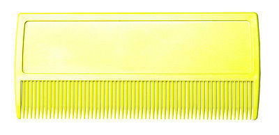 LICE COMB DIANE #7011 LICE COMB , YELLOW COMB, FOR ALL HAIR TYPES