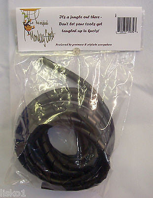 CORD DETANGLER Clipper*Trimmer Cord Detangler Protector, 10 feet long, Plastic,     BLACK