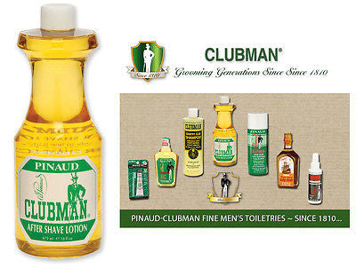 Classic Clubman Pinuad Men's Classic After Shave Lotion  16 oz.