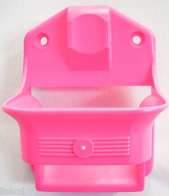 CLIPPER HOLDER Hammond Hair clipper-trimmer wall mount holder (screws included)   PINK