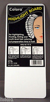 HIGHLIGHT FOIL COLORA HAIR COLORING  highlight board , 3-per pack, 4x10