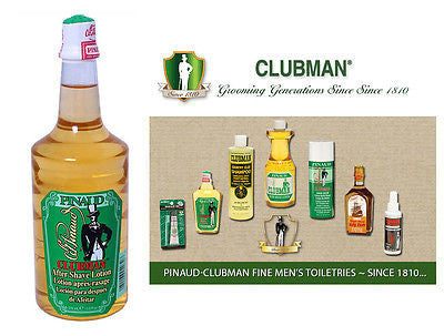 Clubman Pinuad Men's Standard Aftershave Lotion  12.5 oz.