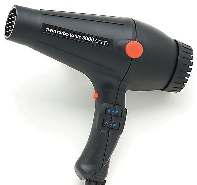PIBBS #3000 TWIN TURBO  IONIC PROFESSIONAL  SALON HAIR DRYER