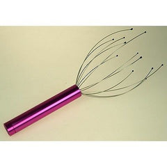 Vibrating Wire Scalp / Head Massager, battery operated, relieve tension 4colors