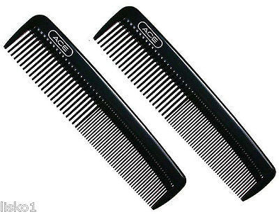 "POCKET COMBS Ace #61586 Hard Plastic 5"" pocket comb     2-combs"