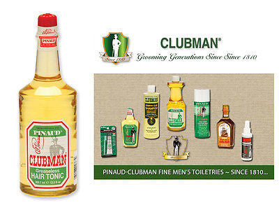 Clubman Pinuad Men's Greaseless Hair Tonic   12.5 oz.