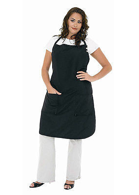 APRON BETTY DAIN #2214 SALON-HAIR CUTTING STYLIST APRON XL SIZE  (BLACK)