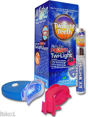 Twilight Teeth At Home Or While Tanning Uv Light Teeth Whitening Kit Lisko Beauty Barber Supply