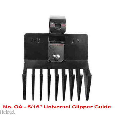"UNIVERSAL CLIPPER COMB Guard_ #0A_ 5/16"" , FITS ALL  BARBER OSTER, ANDIS"