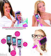LUXOR pro  Wet Brush - Selfie Brush , fits Apple iPhone 5 and 5s,  (black)
