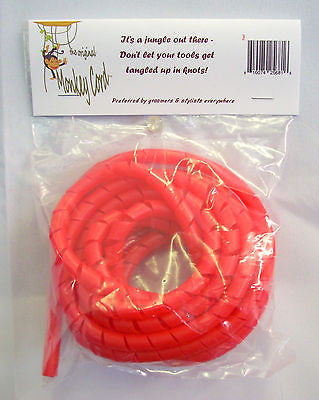 Original Monkey Cord detangler Andis, Oster, Animal trimmer-clipper ( RED)