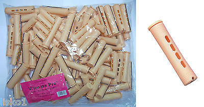 "PERM RODS 2 LB BAG, 3"" Long Sandy Concave Hair Perm Rod  w/ elastic band       LMS"