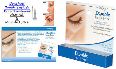 Double Lash & Brow, Promotes Longer Healthier thicker Brows & Lashes