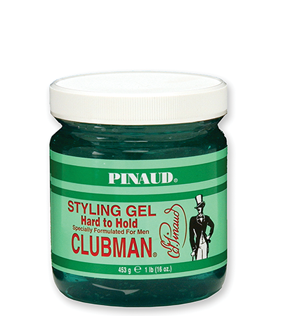CLUBMAN STYLING GEL HARD TO HOLD 16 OZ JAR