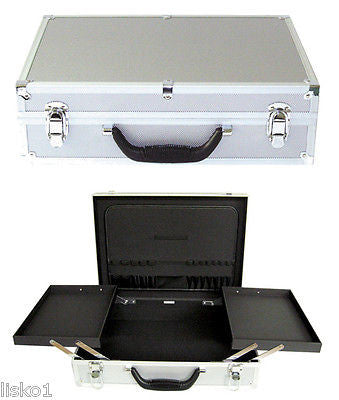 "BARBER'S OR SALON  STYLIST TOOL EQUIPMENT CARRYING CASE"" BURMAX #ATC300"