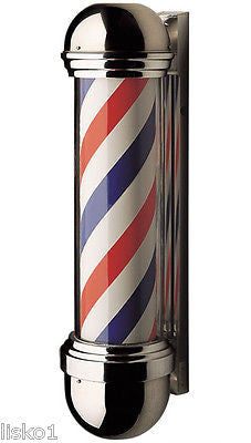 WILLIAM  MARVY CO.  #824   TRADITIONAL SINGLE  LIGHT  BARBER POLE, ORIGINAL