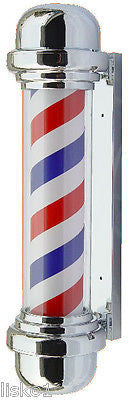 YANAKI _ #YA2130 SLIM LINE  BARBER  POLE, FADE RESISTENT, INDOOR/OUTDOOR