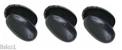 EAR SHIELDS 3- HAIR SALON EAR SHIELDS  DIANE #890,  COVERS HOLE EAR, BLACK