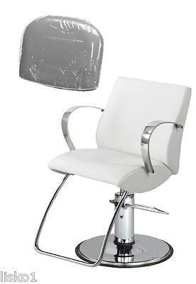 takara belmont lioness salon styling chair plastic chair back cover clear